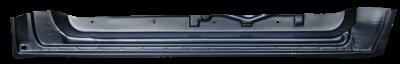76-'85 MERCEDES 200-300 123 FRONT INNER DOOR BOTTOM, PASSENGER'S SIDE - Image 2