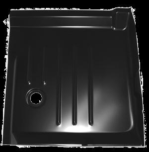 99-'06 CHEVROLET SILVERADO CAB FLOOR PANS, PASSENGER'S SIDE - Image 2