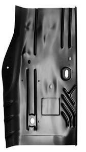 84-'01 JEEP CHEROKEE REAR CAB FLOOR PAN, PASSENGER'S SIDE - Image 2