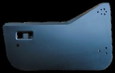 '87-'95 YJ WRANGLER HALF DOOR SHELL, PASSENGER'S SIDE - Image 4
